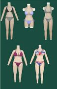 Silicone Breast Forms Shemal Fullbody Suits Arms With C D G H Cup Breasts Boobs