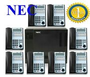 Nec Office Phone Telephone System Sl1100 And Telephone 4-6-8 Handsets Nec Ip4ww