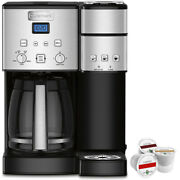 Cuisinart Ss-15 12-cup Coffee Maker And Single-serve Brewer Stainless Steel+k-cu