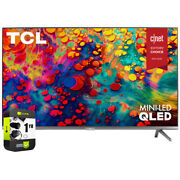 Tcl 75 6-series 4k Qled Dolby Vision Hdr Roku Smart Tv+1 Year Extended Warranty
