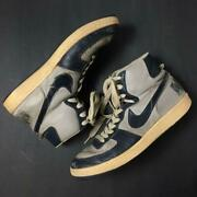 Nike Terminator High 1985 Vintage Grey Made In Korea Size Us 12.5 Without Box
