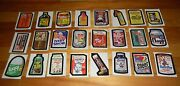 1973-75 Topps Wacky Packages Complete Set Wonder Bread Series 1, 2 And 3 72/72 Ex+