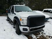 2012 F350sd Left Driver Side Rear Door Assembly Color White Z1