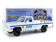 Greenlight Collectibles 1/18 - Chevrolet Cucv M1008 Police Department - New York