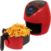 Deco Chef 3.7qt Air Fryer Electric Digital For Quick Oil Free Healthy Frying