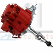 For Ford Sbf Small Block 260 289 302 Hei Ignition Red Cap Distributor 65k Coil