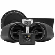 Rockford Fosgate Audio Systems For Polaris Stage 3 General Blk Gnrl-stage3