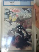 Web Of Spiderman 1 9.8 Cgc Old Label White Pages