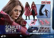 Hot Toys Scarlet Witch 1/6 Collectible Figure Marvel Captain America Civil War