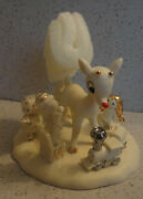 Dept 56 Enesco Rudolph With Misfits 4040612 50 Years Celebration New In Box