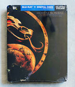 Mortal Kombat 2-film Collection Steelbook [blu-ray+digital] [sold Out] [new]