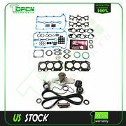 For 1993-2002 Mazda Mx-6 Ford Ford 2.5l Timing Belt Water Pump And Head Gasket Set
