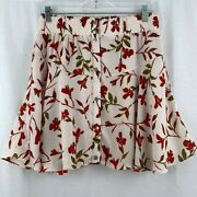 Lovers + Friends Floral Fountain Mini Skirt Size M
