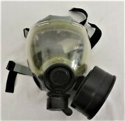Gas Mask Msa Model 12940-69 With Canister