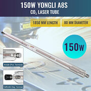 150w Durable Laser Tube For Co2 Engraving Machine Borosilicate Glass 12000h Life
