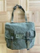 Wwii Era Us Army Usmc M1936 Canvas Musette Bag Od Green Rrl Good Condition