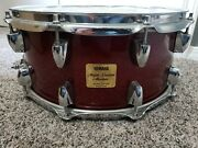 Yamaha Maple Custom Absolute Snare Drumcherrywood - Great Condition
