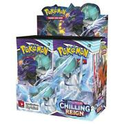 Pokemon Chilling Reign Booster Box - Brand New - Preorder Ships 6/18/21