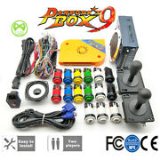 Diy Arcade Cabinet Kit Pandor's Box 9 1500 For Arcade Game Complete Fittings Vga