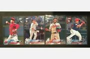 2018 Topps Chrome Update Complete Set Hmt1-100 Soto Acuna Ohtani Torres