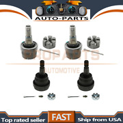 Moog 4pcs Lower+upper Ball Joint Front Set For 1999-2004 Jeep Grand Cherokee_pr