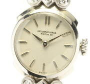 There Is Translation Antique Pm Lug Diamond Hand-wound Women And039s Secondhand