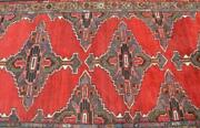 3and0397 X 16and039 Rare Find Long Semi Antique Handmade Wool Runner Rug Oriental Carpet