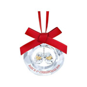 Babyand039s First Christmas 2016 Ornament