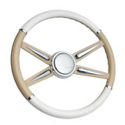 White And Tan Con2r Series 1 Steering Wheel Also Available In 15 Other Colors