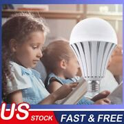 Emergency Bulbs Rechargeable Led Light With Battery Backup Flood Led Bulb 4 Pack