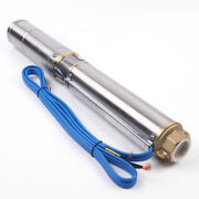 4 And039and039 Stainless Steel Dc Solar Submersible Pump 72v Deep Bore Well Fits Farm New