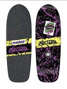 Nos Valterra Back To The Future Skateboard Deck By Madrid Decal With Coa