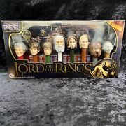 The Lord Of The Rings Pez Collectors Series 7,234 Of 250,000