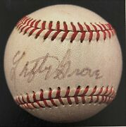 Lefty Grove Autographed Baseball. Signed In The Early 70's. Jsa Authenticated.