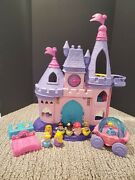 Disney Fisher Price Little People Princess Songs Palace Castle Carriage And Extras