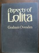 Aspects Of Lolita By Graham Ovenden Hardcover Limited Edition Of 1500 Copies