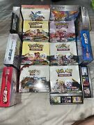 Pokemon Tcg Booster Box Bundle 15 Booster Boxes Factory Sealed🔥 Brand New