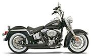 Bassani Xhaust Firesweep Turn Out Exhaust System Black 12123d Harley Davidson