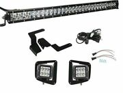 Compatible With 2014-2019 Tundra Lower Bumper Grille 31 150w Led Light Kit