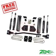 Zone Offroad 4 Lift Kit For Ford F250/f350 2008-10 4wd Diesel