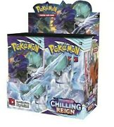 Pokemon Tcg Chilling Reign Booster Case6x Boxespreorder Rel 6/18