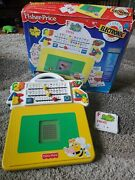 Vintage Fisher Price Write With Lights Play Desk .portable Play Electronic