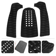 3pcs Surfboard Traction Pads Chic Fine Nice Safe Eva Deck Grips Surfing Supplies