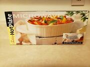 Rpi Tabletop Microwaveable Hot Plate Expandable Granite Fast Heating