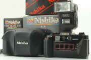 Unused Nishika N8000 35mm Camera 3d Quadra Lens System Twin Light From Japan