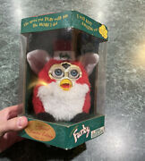 Vintage 1999 Electronic Furby Special Limited Edition Santa Christmas Brand New