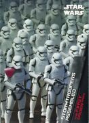 Star Wars 2015 Force Awakens First Order Rises Card Fo-5 Stormtroopers Assembled