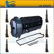 Valve Cover Gasketandignition Coil For 03-2006 04 05 Bmw 330xi 530i X3 X5