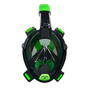 Aqua Leisure Frontier Full-face Snorkeling Mask - Adult Sizing - Eye To Chin