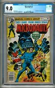 Micronauts 1 1979 Cgc 9.0 Ow/w Pages Mantlo 1st Baron Karza And Bug